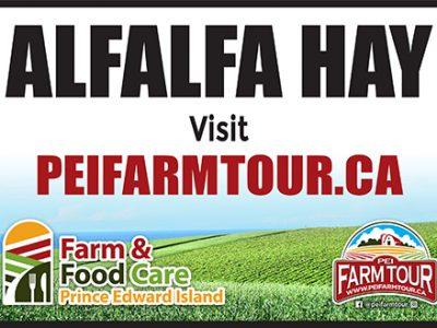 Alfalfa Hay Sign