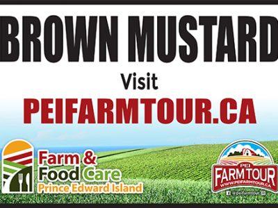 Brown Mustard Sign