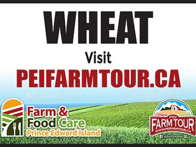 Wheat Sign